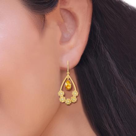 4f15dbf3bfa Floral Pear Drop Earrings Floral Pear Drop Earrings