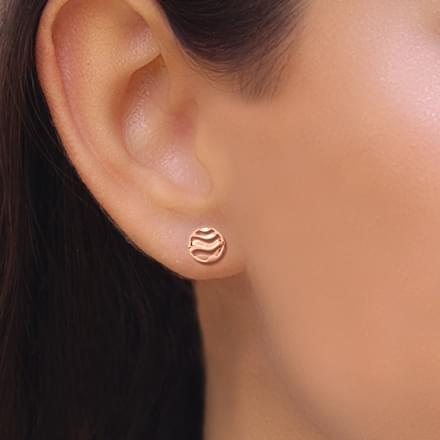 47f6e303e Encircle Wave Stud Earrings Jewellery India Online - CaratLane.com