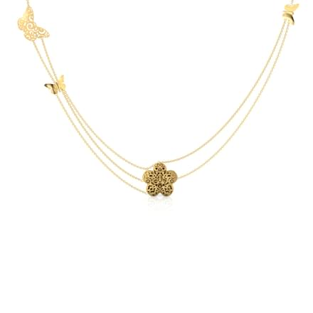Sue Butterfly Cutout Necklace