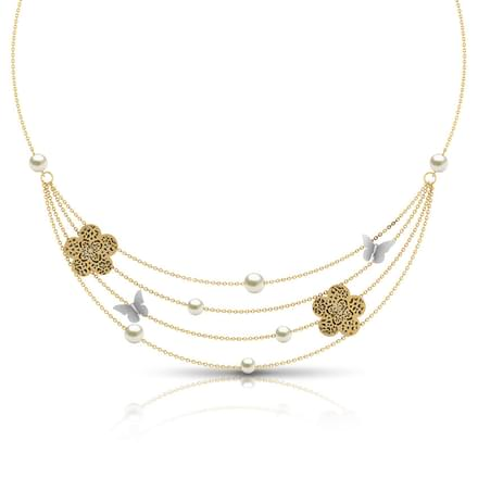 Freda Cutout Necklace