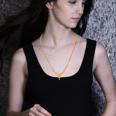 Lera Ascending Bead Necklace