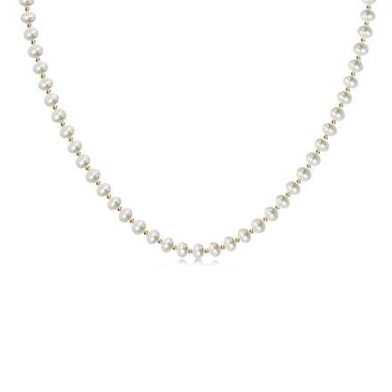 Eternity Pearl Necklace