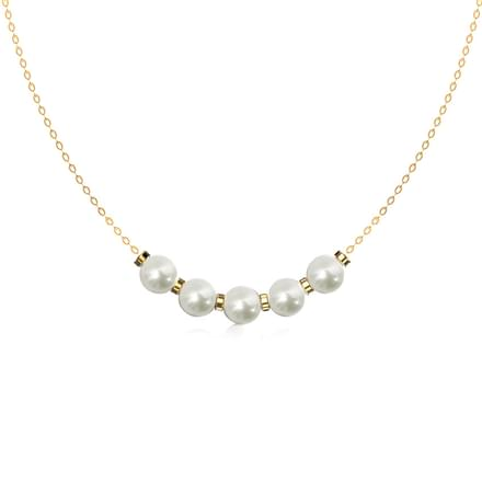 Penta Pearl Necklace