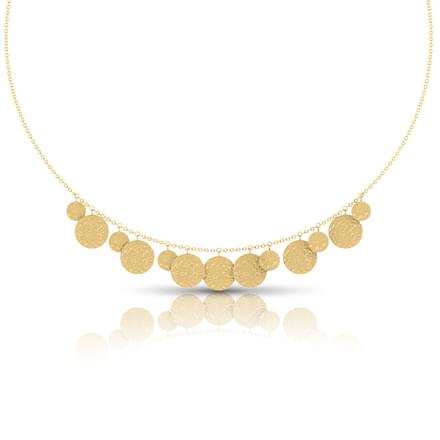 Chas Hammered Necklace