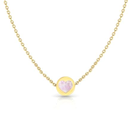 Heart Reversible Necklace