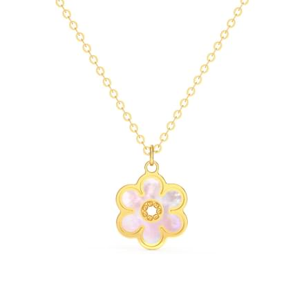 Blossom Mother of Pearl Necklace