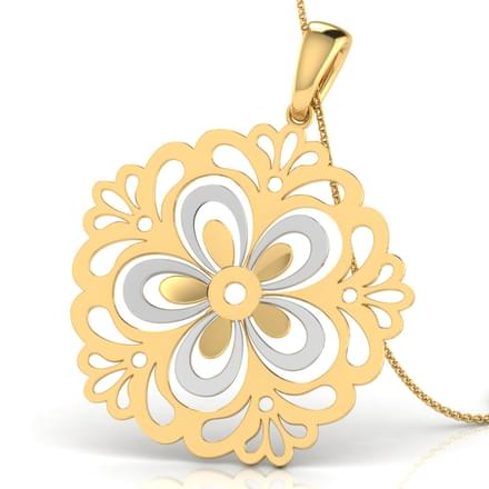 Jane Carpet Cutout Pendant
