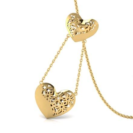 169 gold pendants designs buy gold pendants price rs 3404 evans cutout gold pendant aloadofball Choice Image