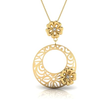 169 gold pendants designs buy gold pendants price rs 3414 jose cutout pendant aloadofball Image collections