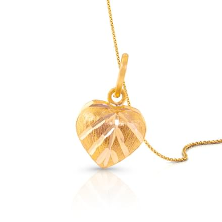 Leaf Textured Pendant