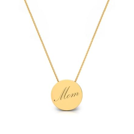 Mom Word Pendant
