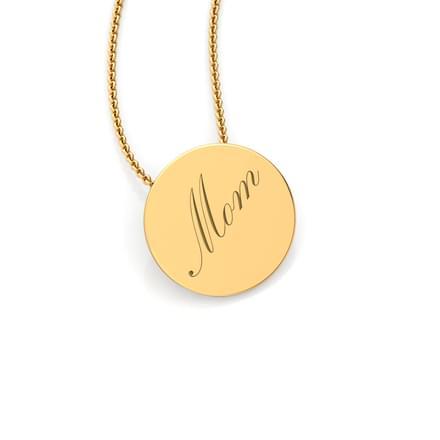 Mom word pendant jewellery india online caratlane mom word pendant aloadofball Choice Image