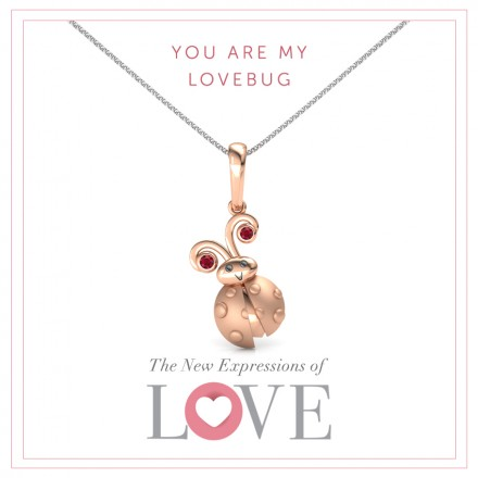 You Are My Love Bug Pendant