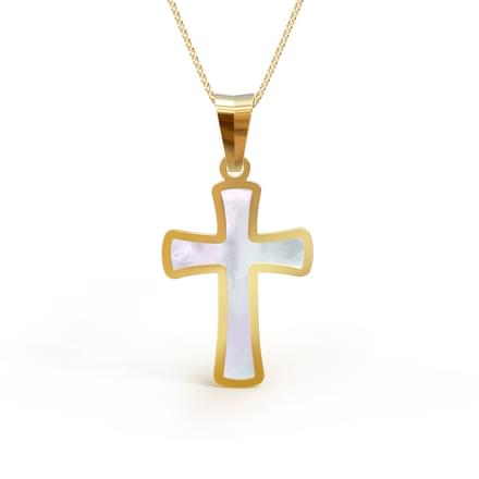 Cross Mother of Pearl Pendant