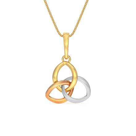 Interlooped Petals Pendant