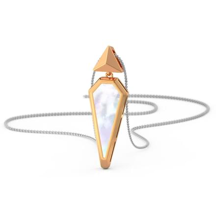 We Mother of Pearl Pendant