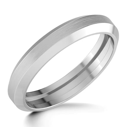 Darcy Platinum Band for Him
