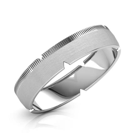 Edward Platinum Band for Him