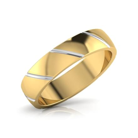 Ross Gold Band for Him