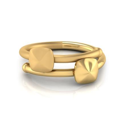 58f5d3b1668b Dita Geometric Ring Jewellery India Online - CaratLane.com