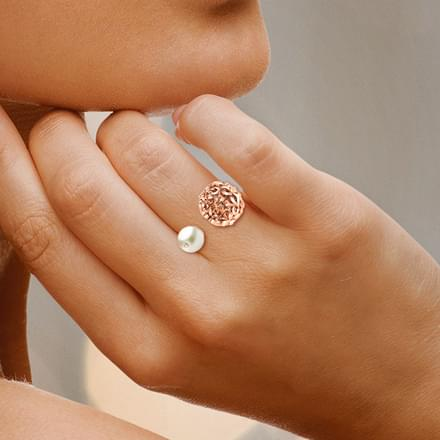 Sphere Filigree Ring