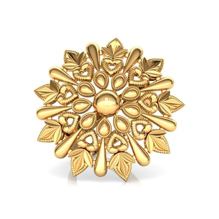 Intricate Petals Ring