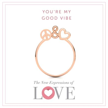 Peace and Love Ring