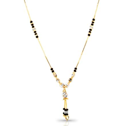 Oja Beaded Gold Mangalsutra