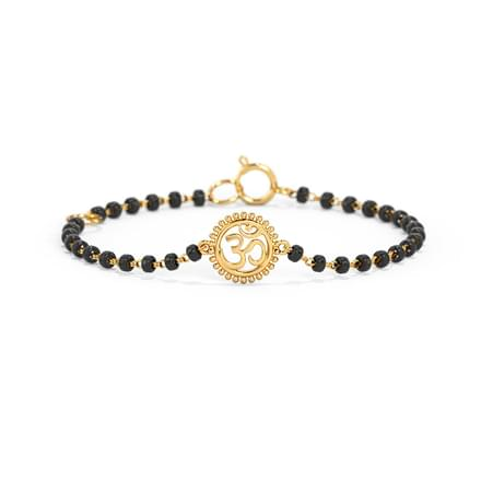 Ornate Om Infant Bracelet