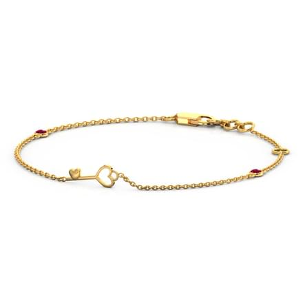 Bliss Love Lock Bracelet