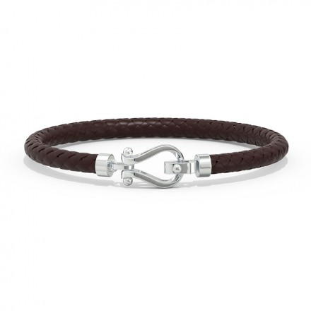 Lucas Platinum Bracelet for Him