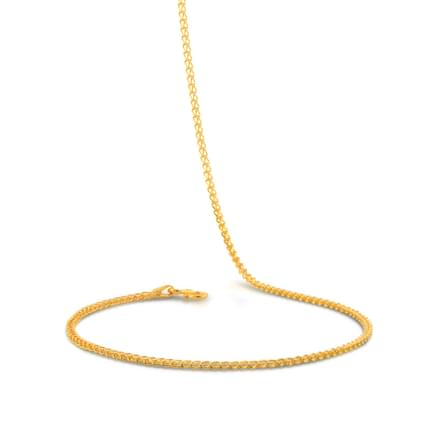 Weave Foxtail Gold Chain