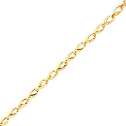 Drop Link Gold Chain