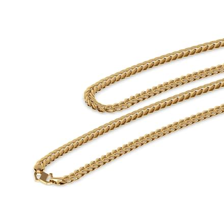 Whorl Link Gold Chain