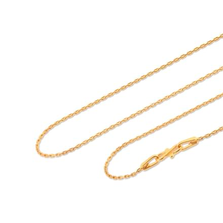 Linear Cable Gold Chain