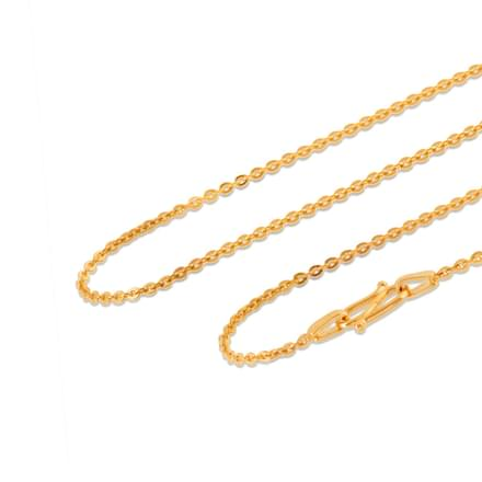 Delicate Cable Gold Chain