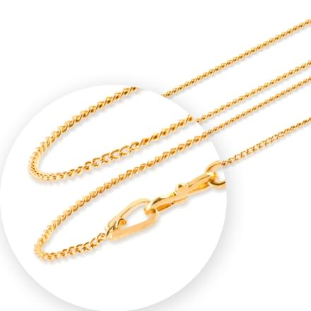 Braid Cable Gold Chain