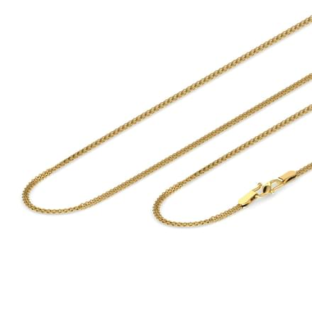 Unite Cable Gold Chain