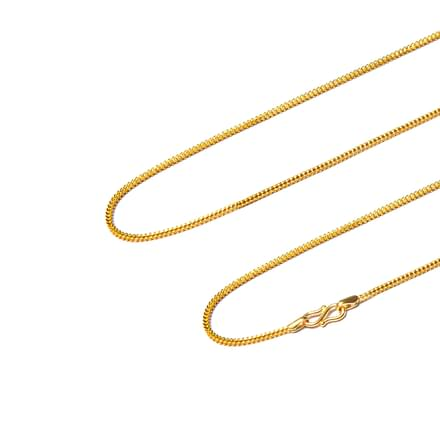 Twine Curb Gold Chain