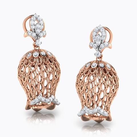 Drop Dome Jhumkas Jewellery India Online - CaratLane.com