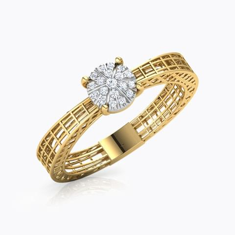 Diamond Rings Latest Designs Online Rs 6852