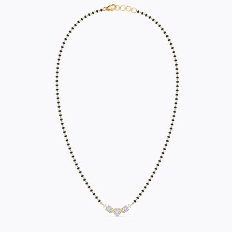 44d3b52bbbf66 152 Mangalsutra Designs, 22k Gold & Diamond Mangalsutra for Women
