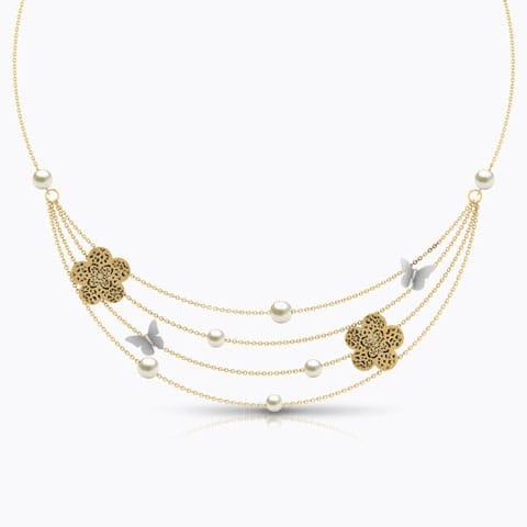 Freda Cutout Necklace
