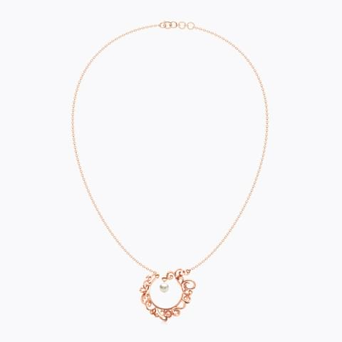 Circular Filigree Necklace hover