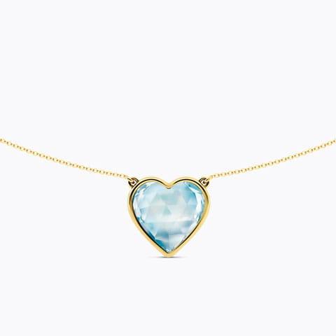 Amour Gemstone Necklace