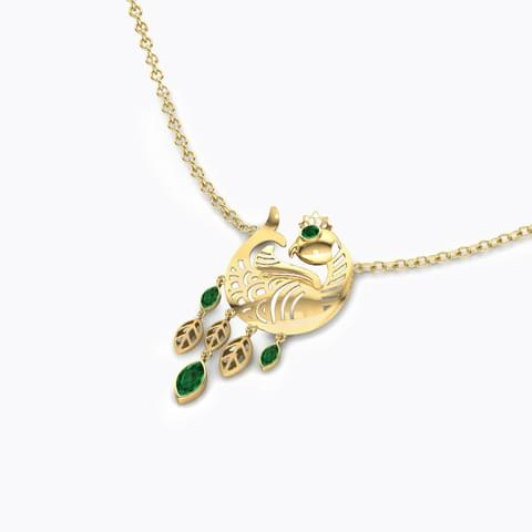 Navilu Feather Necklace