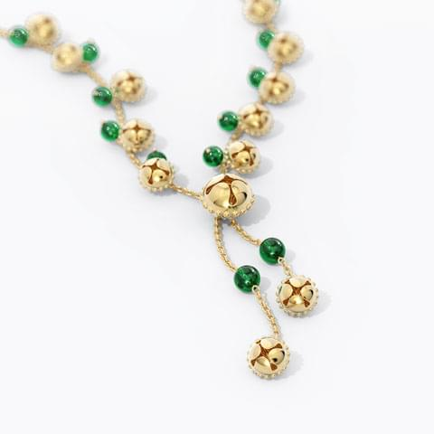 Saroja Gold Necklace