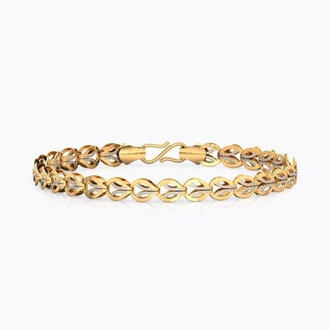 6fec4071f Juana Leaf Linked Bracelet ...