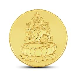 2gm, 22Kt Lakshmi Gold Coin