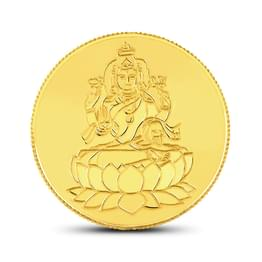 4gm, 24Kt Lakshmi Gold Coin